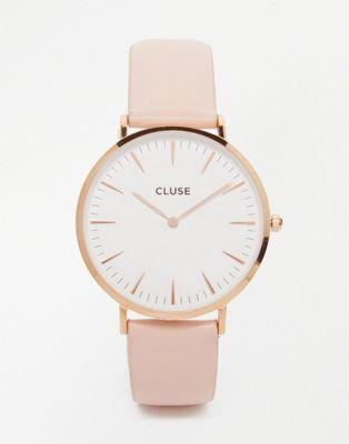montre rose cluse