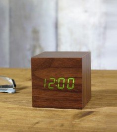 horloge-reveil-cube-led